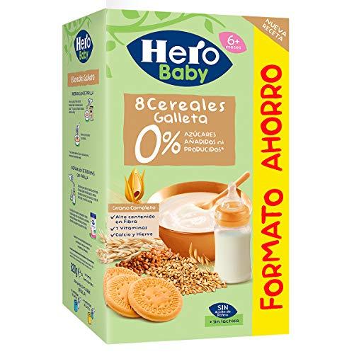 Hero Babynatur Cereales con Galleta, 820g
