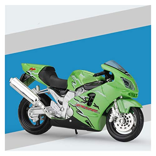 DSWS Kit de modelo de motocicleta escala 1:18 modelo de motocicleta de aleación para bicicleta de montaña de KX250F simulación modelos de motocicleta coleccionables juguetes para niños (color: 3)
