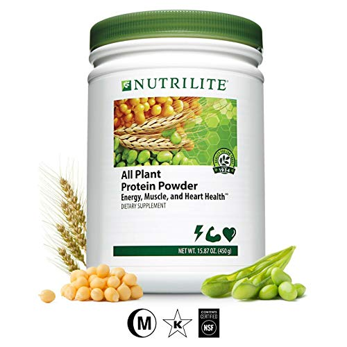 Nutrilite All Plant Protein NET Weight: 450 G. By Amway