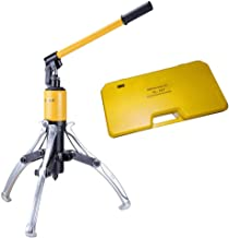 IBOSAD 10Ton Hydraulic Gear Puller Adjustable 3 Jaws Wheel Bearing Pulling Separator 3 in 1 Pump Oil Tube Drawing Machine Wheel Bearing Hub Removal Tool