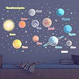 "WANDKINGS Leuchtaufkleber ""Planeten"", XL Set, 390"