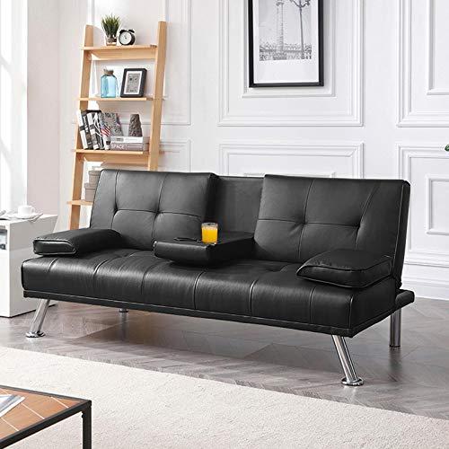 YAHEETECH Futon Sofa