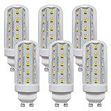 Ampoule LED T30 4 W Tube en épi de maïs Blanc chaud 3000 K 360°, GU10, GU10, 4.00W, 230.00V