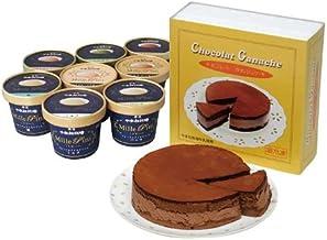 那須 千本松牧場 チョコレートガナッシュセット(冷凍)
