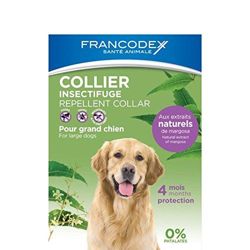 Francodex - Collar Repelente Natural para Perros mas 20 kg