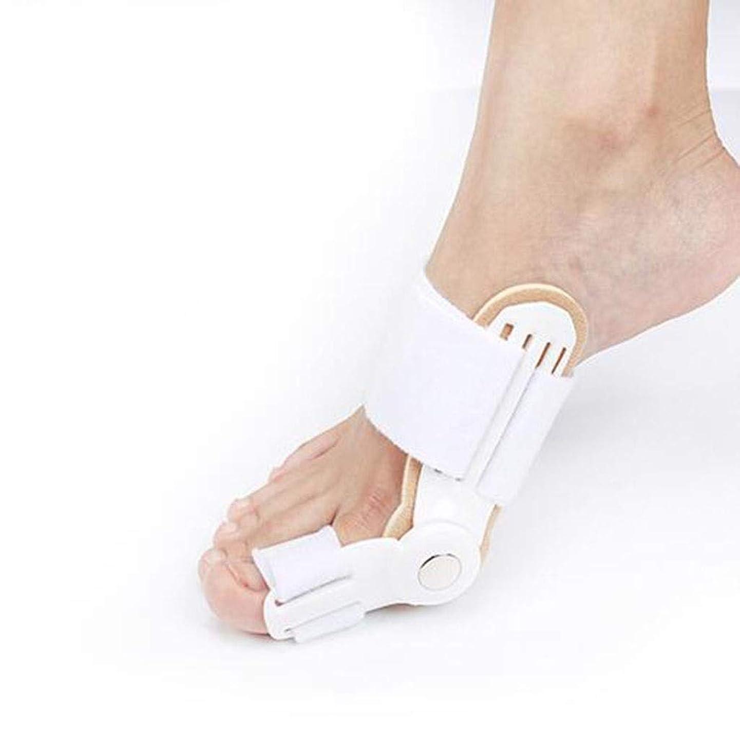 子羊正直後者足の整形外科用足の親指親指外反整形外科大人の足の外反整形外科ビッグフットボーン外反が付いている夜セパレーター