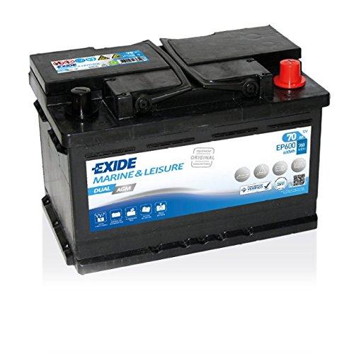 Exide Batterie Dual AGM 151