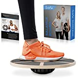 SportyAnis® Premium Balance-Board Holz inkl....