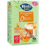 Hero Babynatur - 8 Cereales Miel 500 g