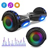 NEOMOTION Hoverboards 6.5 inch Segway with Bluetooth LED Flash Lights New Model Electric