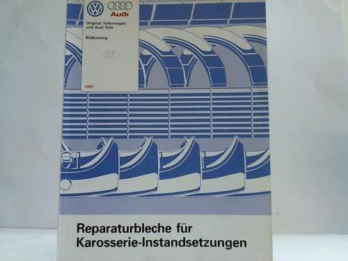 Reparaturbleche für Karosserie-Instandsetzungen. Bildkatalog