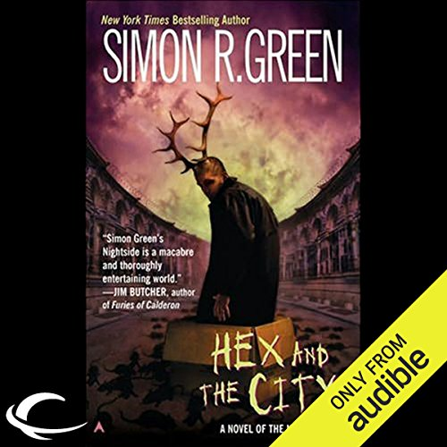Hex and the City audiobook cover art