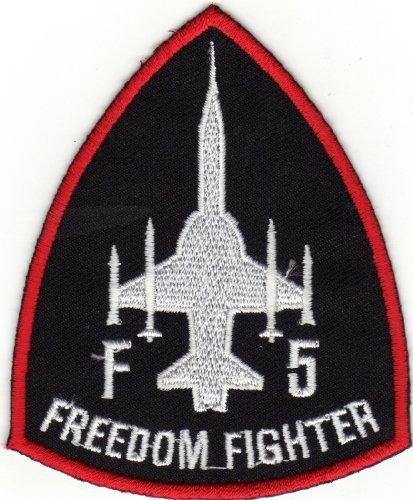 JAB Seller Ecusson brodé Ecussons Imprimés Ecussons Thermocollants Iron-on Patch F5 Freedom Fighter armée de l'air Emblem Badge