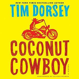 Coconut Cowboy audiobook cover art