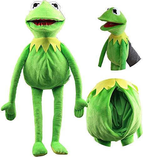 LUOWAN Kermit Der Frosch Handpuppe Spielzeug Frosch Weiche Plüsch Muppet Show Puppen Kinder 60CM/A