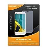 3 x SWIDO® Protector de pantalla Vodafone Smart Ultra 6 Protectores de pantalla de película 'AntiReflex' antideslumbrante