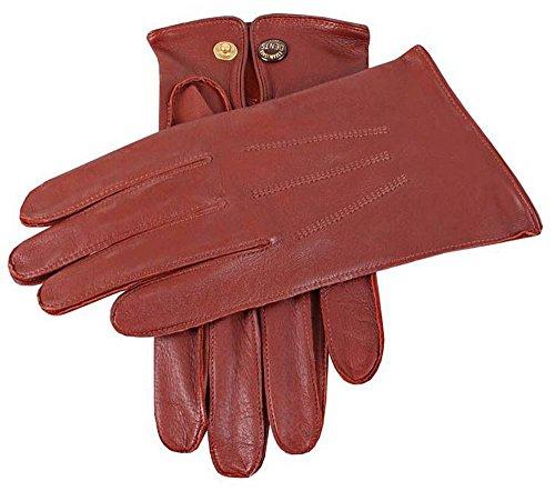 Dents Anglais Tan Sandhurst cuir gants - Grand de