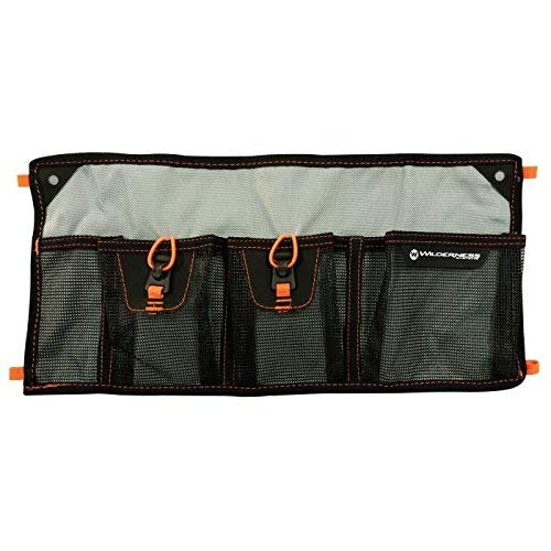 Wilderness Systems Mesh Storage Sleeve – 4 Pocket – für Kajak Speicher