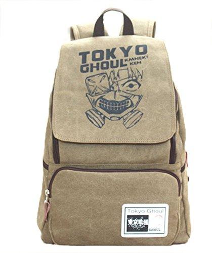 Gumstyle Anime Cosplay Rucksack Schultasche Tablet Laptop Tasche für Jungen und Mädchen Gr. Einheitsgröße, Tokyo Ghoul