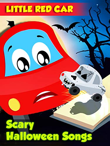 Little Red Car Scary Halloween