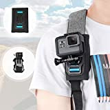 AuyKoo Support Universel de Quick Release Sangle d'épaule Sac à Dos pour GoPro Hero7 Hero 8 Black...