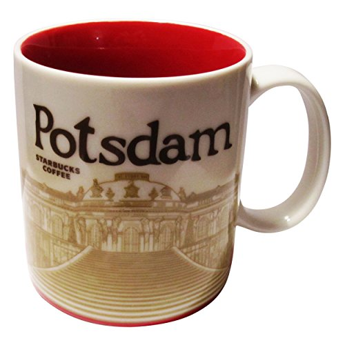 Starbucks City Mug Potsdam Coffee Cup Pott Kaffee Potsdam Sanssouci Icon Germany