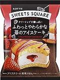ロッテ スイーツスクエア ふわっとやわらかな苺のアイスケーキ 65ml×24袋