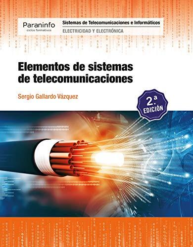 Elementos de sistemas de telecomunicaciones 2.ª edición 2019