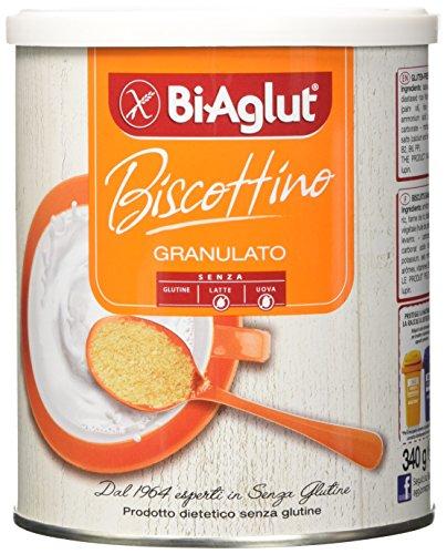 Biaglut Biscottino Granulato - 340 gr, Senza glutine