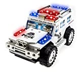 Techege Toys Super Police Toy Car