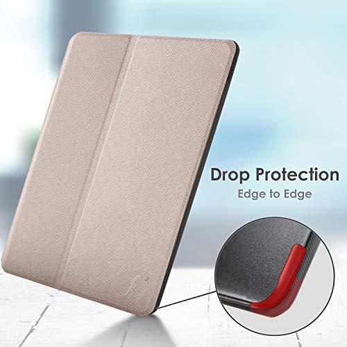 Forefront Cases Hülle für Samsung Galaxy Tab A7 10.4 - Schutz Galaxy Tab A7 Hülle Ständer - Gold - Dünn & Leicht, Smart Auto Schlaf/Wach, Samsung Galaxy Tab A7 10.4 Zoll 2020 Hülle, Tasche