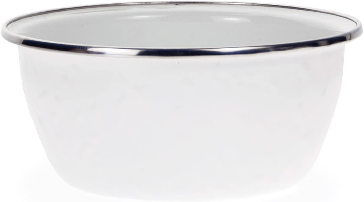 Golden Rabbit Enamelware - White 3 Max 49% OFF Pattern Popular products Cu Texture on
