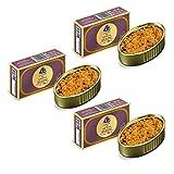 Lata de Caviar de Erizo de 115 gr - Herpac. Salazones, ahumados y conservas (Pack de 3 latas)
