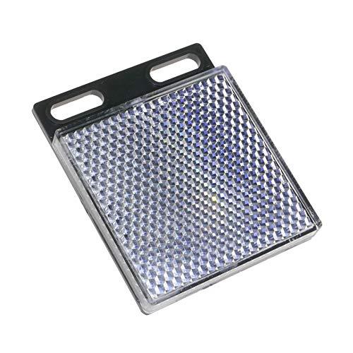 BeMatik - Espejo reflector catadióptrico rectangular para fotocélula fotoeléctrica 47x47mm (TZ092)