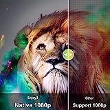 Zoom IMG-1 proiettore wifi bluetooth artlii enjoy3