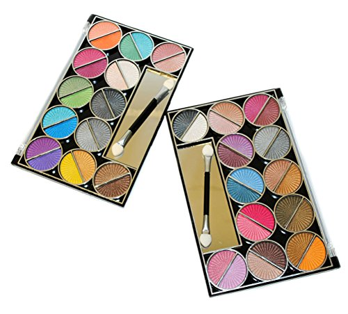 48 Splashing Paint Design Color Eyeshadow Makeup Kit Palette