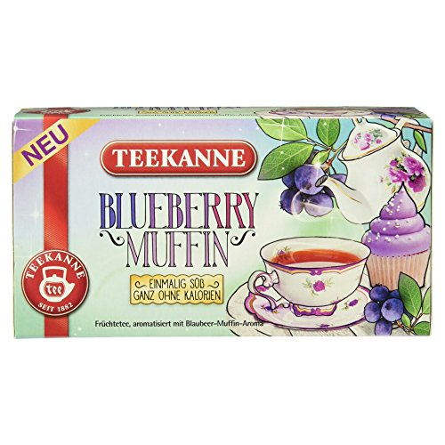 Teekanne Blueberry Muffin, 18 Beutel, 40.5g
