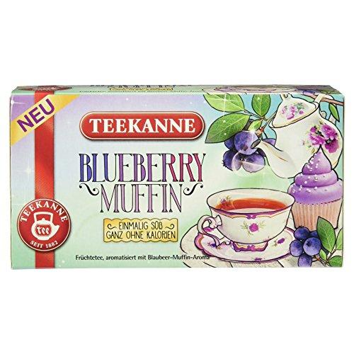 Teekanne Blueberry Muffin, 18 Beutel, 40,5g