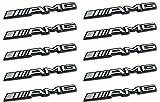 10x AMG Mercedes C CL CLS E S SL SLK ML GL emblema adhesivo Logo B 63? GLE