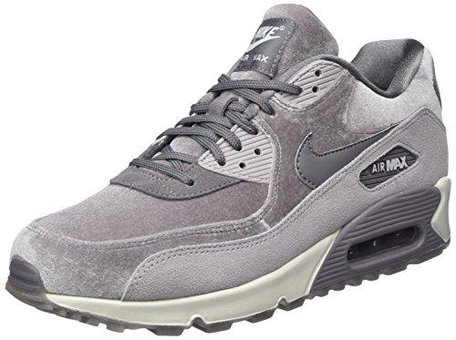 Nike Air MAX 90 LX, Zapatillas de Gimnasia Mujer, Gris (Gunsmokegunsmokeatmosphere G 007), 44.5 EU