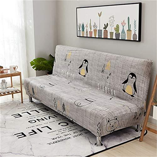XIN NA RUI Universal-Schlafsofa Cover All-Inclusive Couch Abdeckung Faltbare Stretch Husse Big Elastizität Funiture Sofa-Abdeckung Ohne Armlehne (Color : A, Size : 160 190cm)