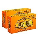 Jalea Real con Ginseng y Vitamina C40 Ampollas | Vitaminas para el cansancio| Refuerza el organismo| Vitamina B6 y B12| Ayuda a reforzar el sistema inmunitario| QUALNAT