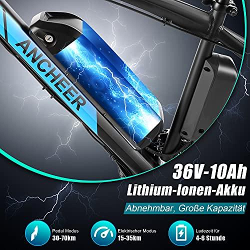 ANCHEER Elektrofahrrad E-Mountainbike Bild 3*