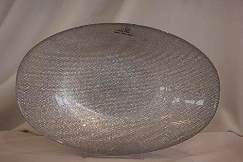 Akcam Hand Made Schale Punktdesign Silver Glitter