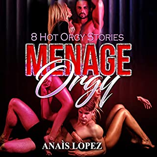 Menage Orgy: 8 Hot Orgy Stories audiobook cover art