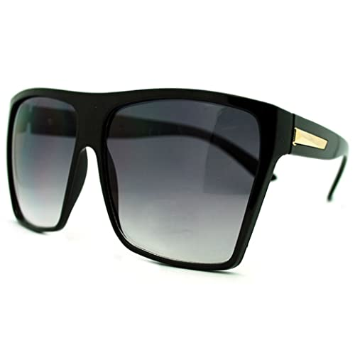 7b7c9861d2 Super Oversized Sunglasses Unisex Flat Top Square Frame Fashion Wear