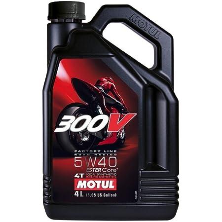 Motul Motor Oil Turnier 104242 300v Power 5w 40 Pack 6 Liter Metallic Auto