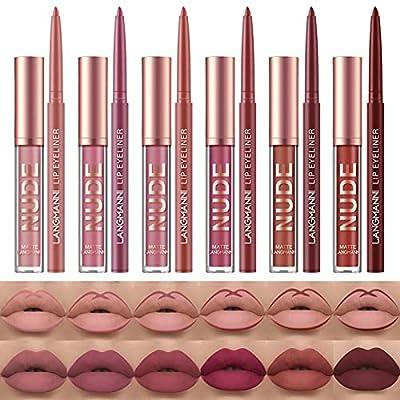 Lip Liner and Lipstick