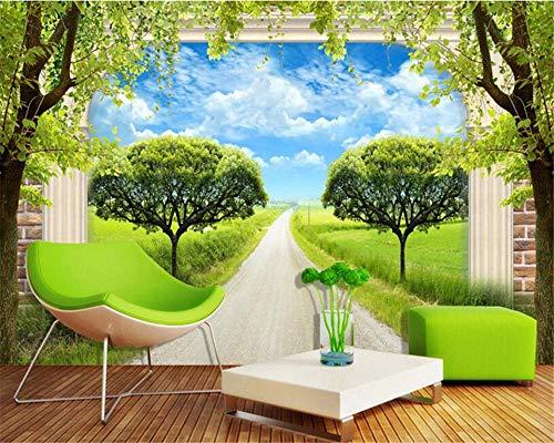 Fototapete Moderne Wanddeko Grünes Gras Tapety Wohnmöbel Mode Dekorative Malerei Tapete 3D Pip Tv Hintergrund Tapete Wohnzimmer