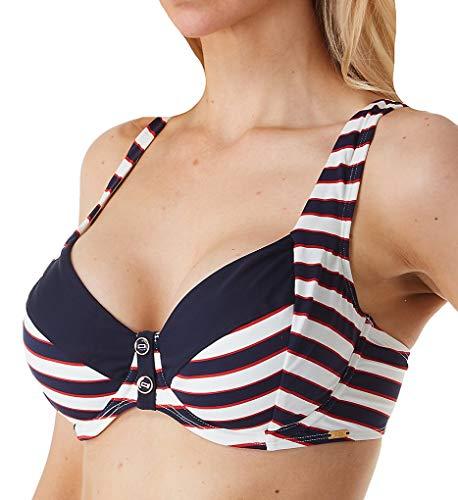 Panache Swim Lucille Balconette-Bikini-Oberteil -  Blau -  75E